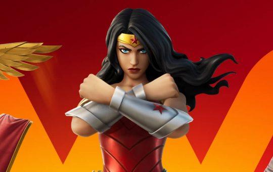 Чудо-женщина прибывает в Fortnite, чтобы завершить DC Trinity