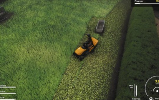 Симулятор стрижки газона: руководство по стрижке газона