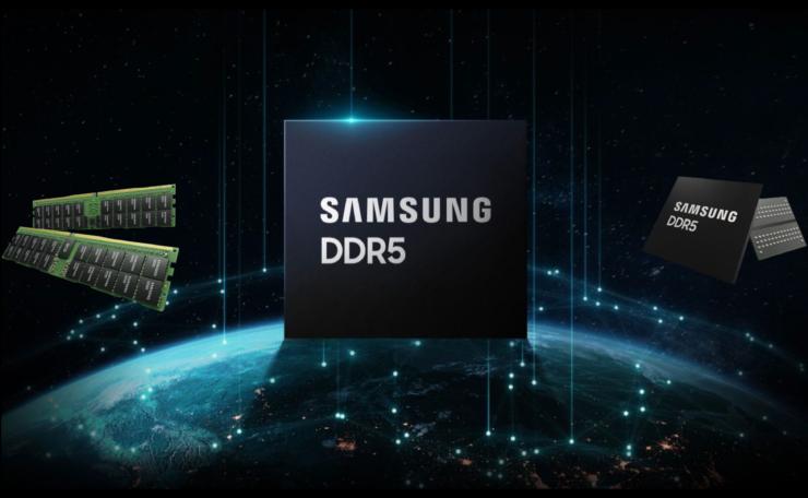 Samsung разрабатывает модуль памяти DDR5 объемом 512 ГБ со скоростью до 7,2 Гбит/с, массовое производство к концу 2021 года